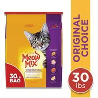 Meow Mix Original Choice Dry Cat Food, 30-Pound