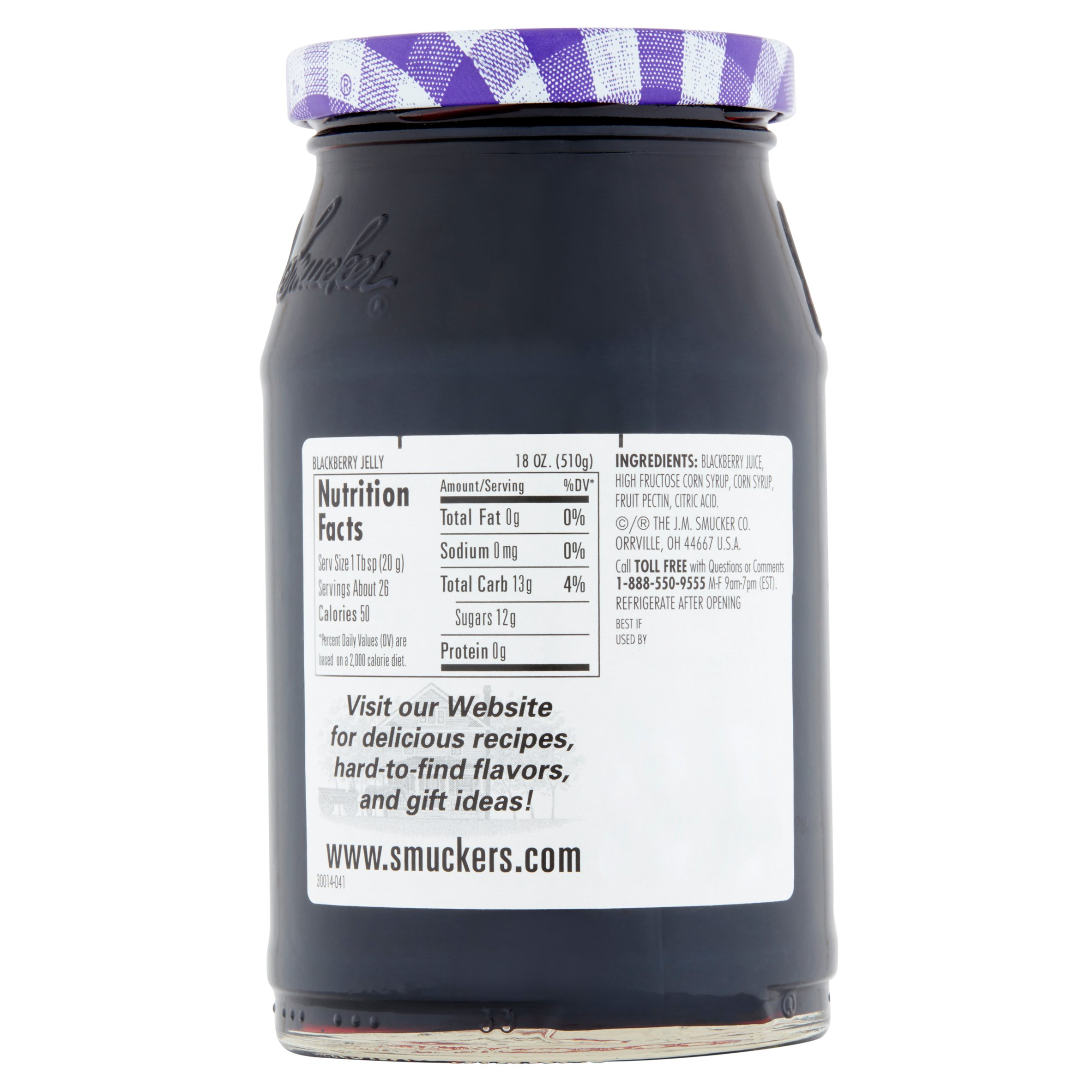 Smucker's: Blackberry Jelly, 18 Oz