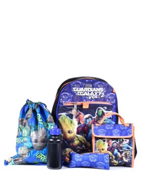 BOYS' GUARDIANS OF THE GALAXY 5PC. SET BACKPACK