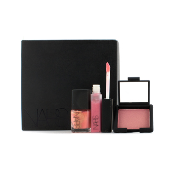 NARS Yorokobi Set (Mini Blush, Mini Lip Gloss, Nail Polish)