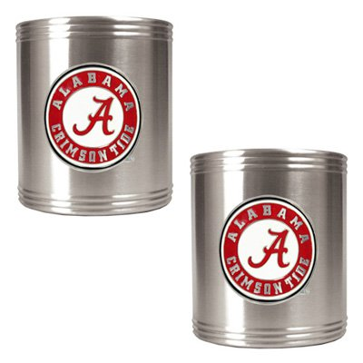 Great American NCAA Stainless Steel Can Holder Set