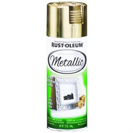 Gold Metallic Bright Reflective Finish Spray - Medici Gold Finish