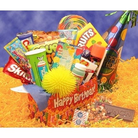 Gift Basket Drop Shipping Deluxe Happy Birthday Care Package ()