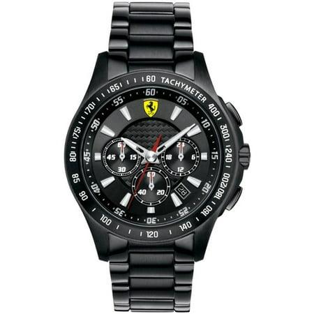Mens Scuderia Ferrari Chronograph Black Watch 830046