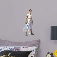 Fathead Rey - Star Wars: The Rise of Skywalker - Large Officially Licensed Removable Wall Decal