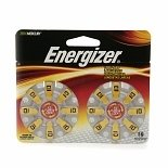 Energizer EZTurn & Lock Hearing Aid Battery Size 10 16.0 ea(pack of 1)