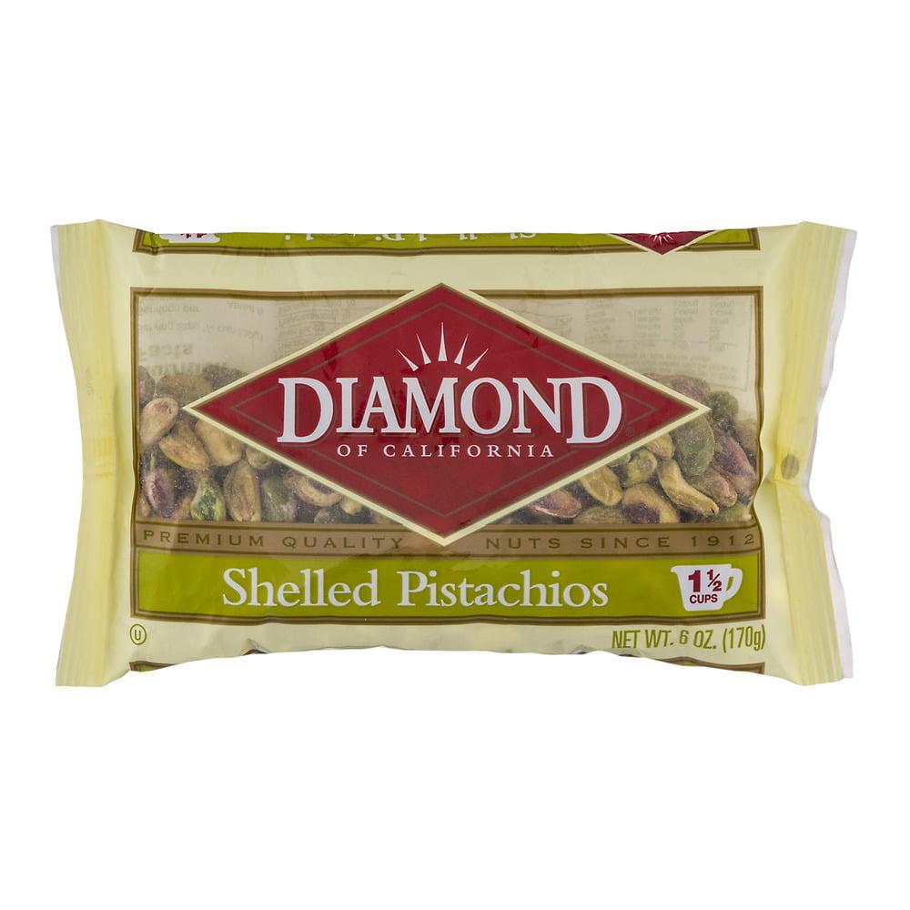 Diamond of California Shelled Pistachios, 6 oz