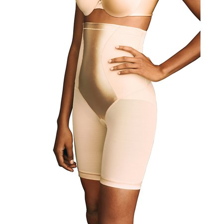 4e0de5c2bb Maidenform Flexees Womens Shapewear Hi-Waist Thigh Slimmer - Walmart.com
