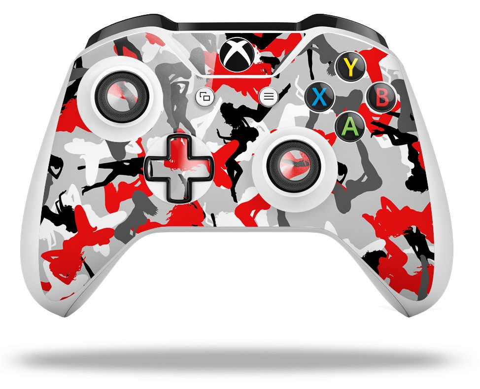 Skin Wrap For Microsoft Xbox One S X Controller Sexy Girl