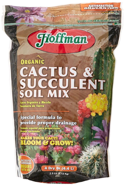 10404 Organic Cactus and Succulent Soil Mix, 4 Quarts - Walmart.com
