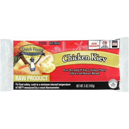 Dutch Farms Chicken Kiev 5 Oz Walmart