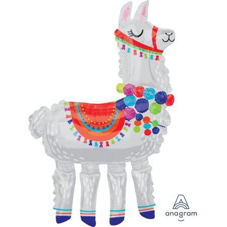 Llama Airwalker Balloon (1) - Llama Party