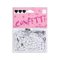 6mm Silver Heart Wedding Favor Table Party Confetti Approximately 9,000 Pc, Darice Confetti Packs are perfect for decorating baby shower,.., By Darice Ship from US