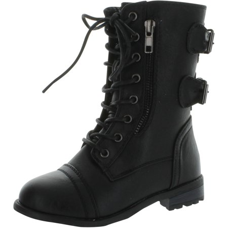 Combat Boots Girl (Link Mango-61K Girls Zipper Military Combat)