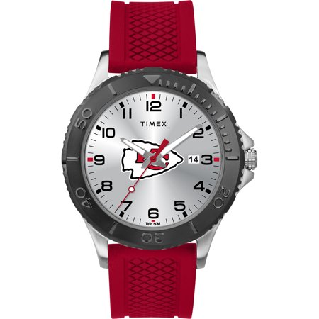 Timex - NFL Tribute Collection Gamer Red Men's Watch, Kansas City Chiefs