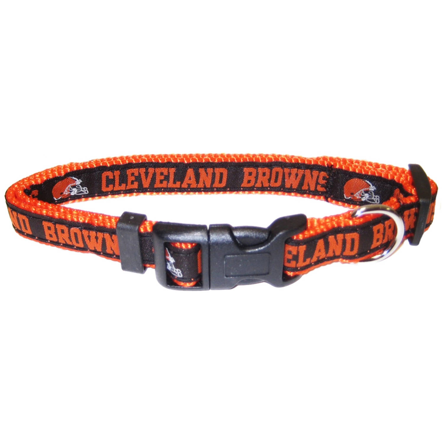 Pets First NFL Cleveland Browns Pet Collar