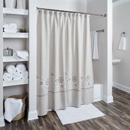 Rizzy Home Full Bloom Collection Shower Curtain By