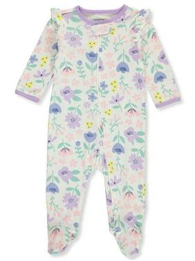 Carter's Baby Girls' Tulip Flora 2-Way Zipper Footed Coverall (Newborn)