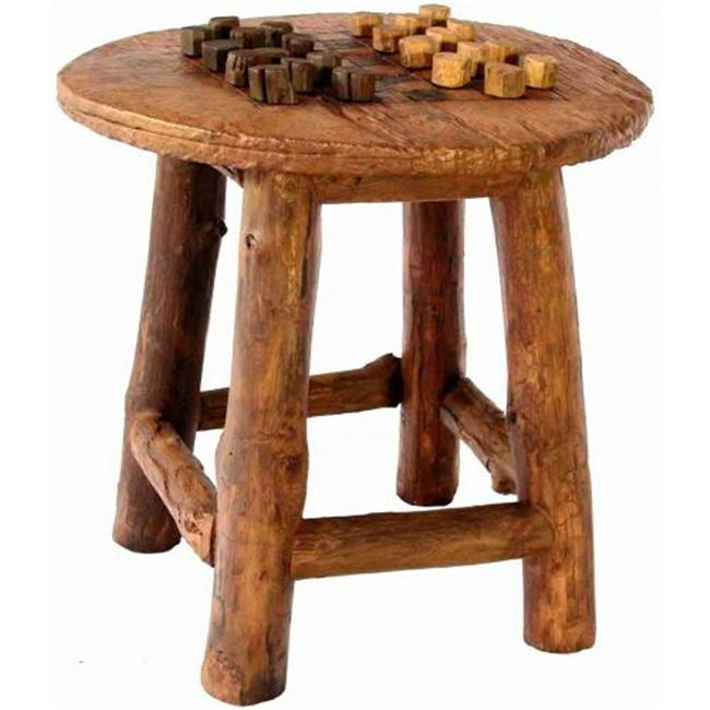 Groovy Stuff Furniture TF-0770 Waco Wheel Game Table