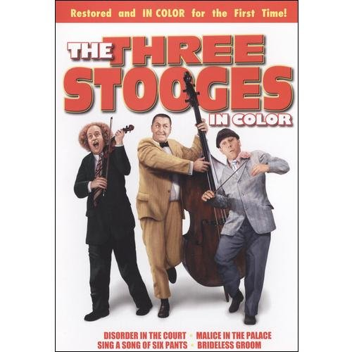 3 STOOGES-SHORTS IN COLOR (DVD)