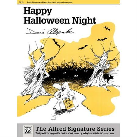 Happy Halloween Night (Happy Halloween Night - By Dennis)