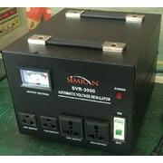 Simran Voltage Transformer Power Converter Regulator Stabilizer Power Converter Black (SVR-3000)