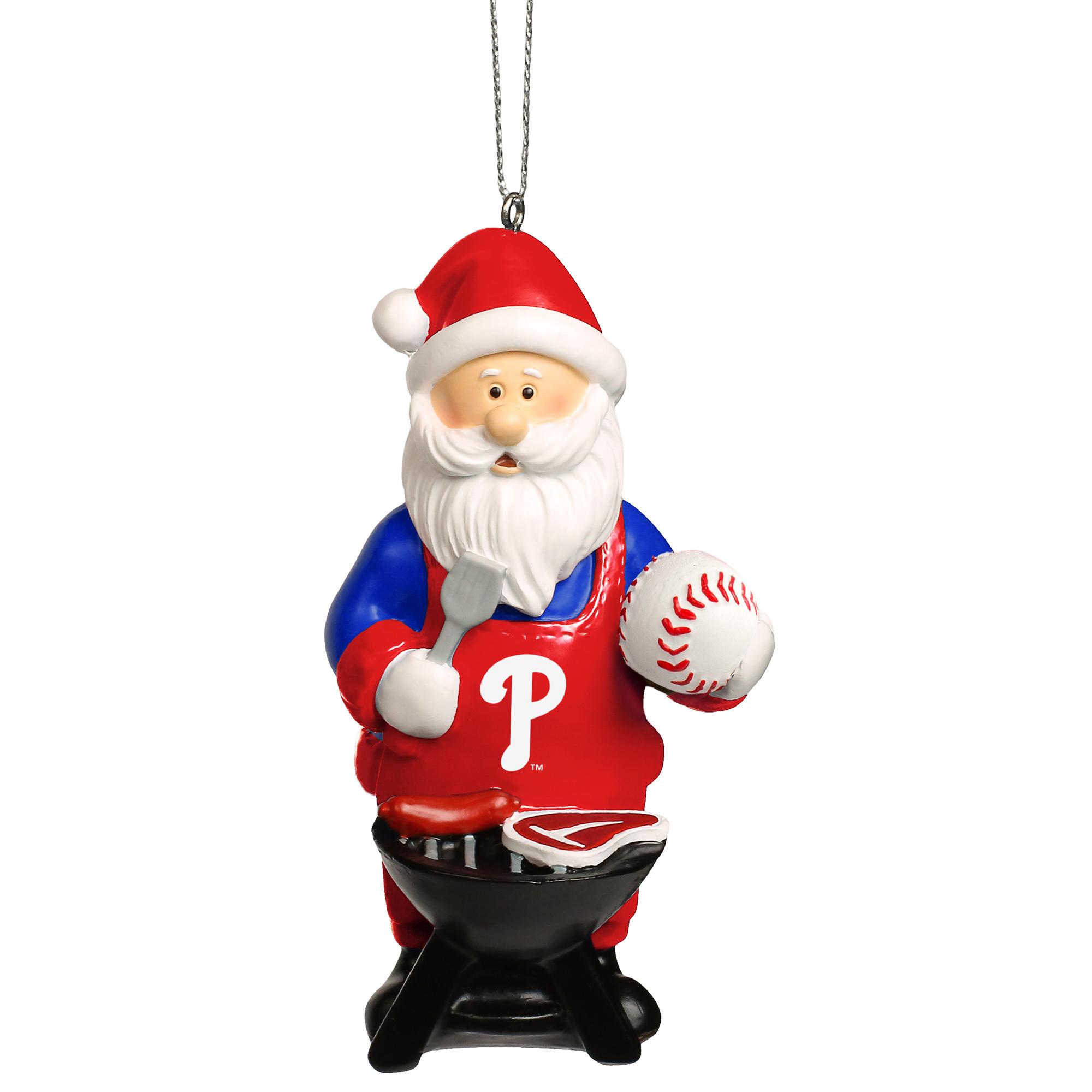 Philadelphia Phillies Santa Grill Ornament - No Size