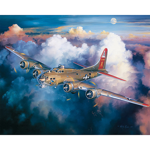 White Mountain Puzzles B17 Bomber Puzzle, 1000 Pieces ...