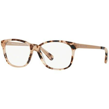 Eyeglasses Michael Kors MK 4035 3205 PINK TORTOISE (Glasses Frames Michael Kors)