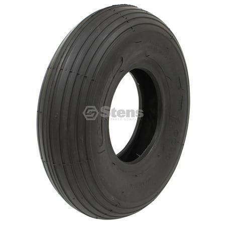 Kenda Tire 13.5x4.00-6 Rib Tread 2 Ply Tubeless for Lawnmower Golf Go Cart ATV On Off Road 5134371 2 Ply Rib Tread
