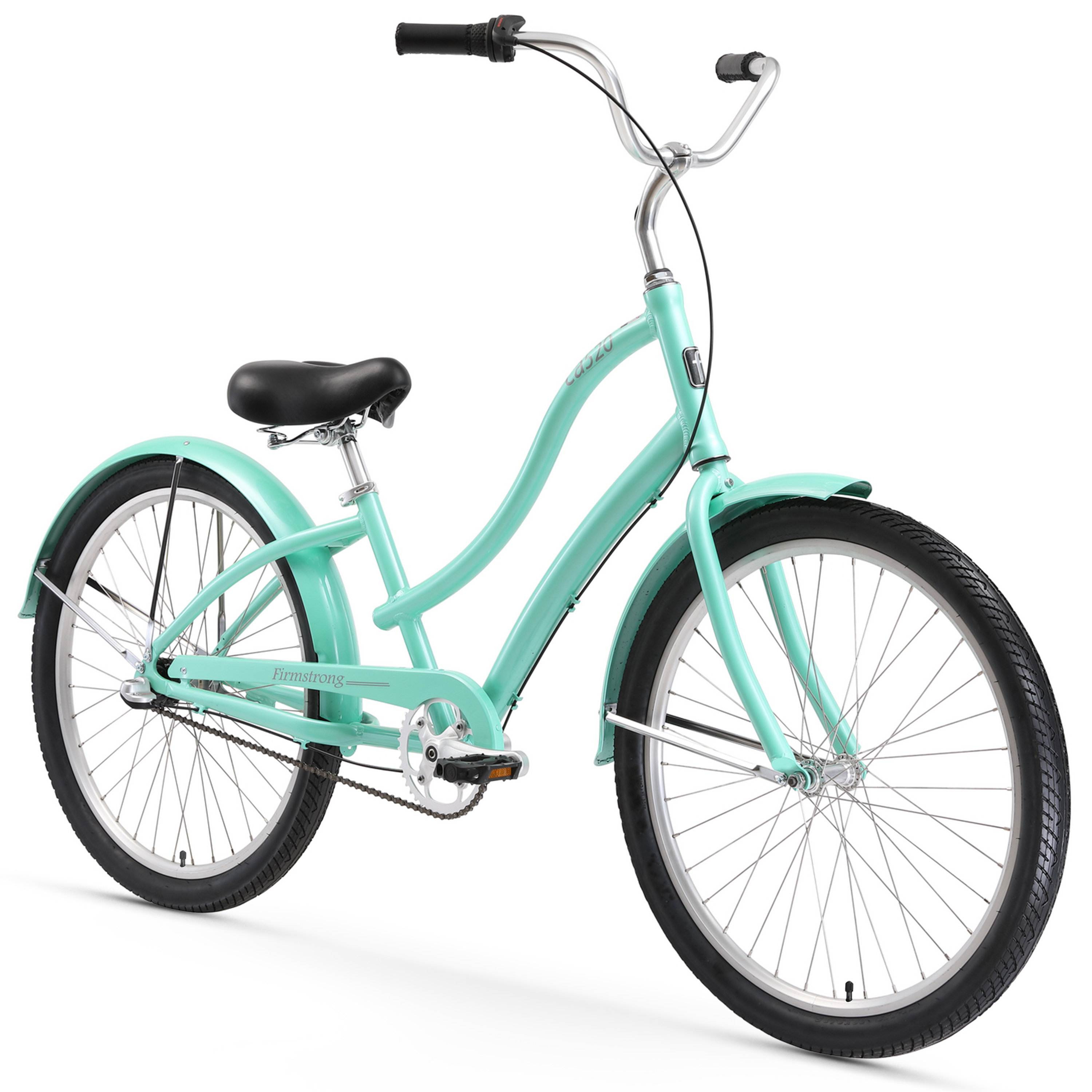 "Firmstrong CA-524, 26"", Women's, Three Speed, Mint Green"