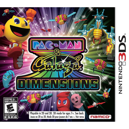 Pac-Man and Galaga Dimensions (Nintendo 3DS)