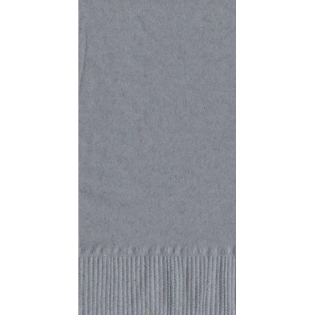 50 Plain Solid Colors Dinner Hand Towel Napkins Paper - Silver](Grey Paper Napkins)