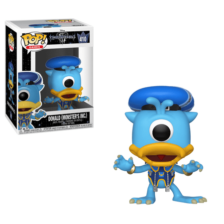 Funko POP! Disney: Kingdom Hearts 3 - Donald (Monsters Inc.)