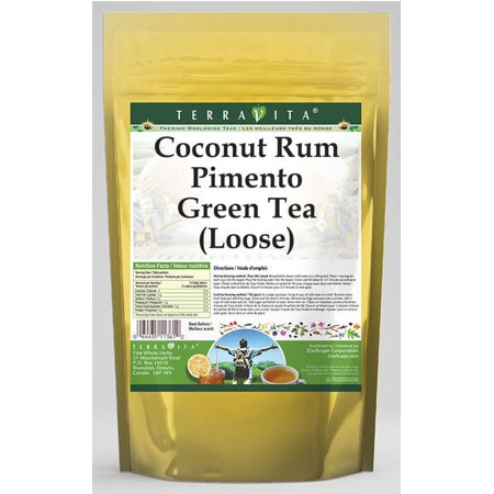 Coconut Rum Pimento Green Tea (Loose) (4 oz, ZIN: 538094) -