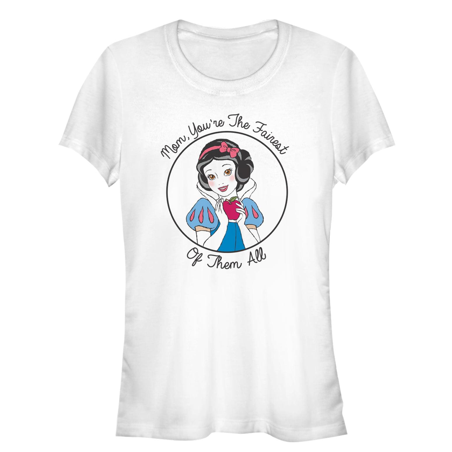 Snow White and the Seven Dwarves Juniors' Fairest Mom T-Shirt