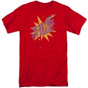 Astro Pop Blast Off Mens Big and Tall Shirt