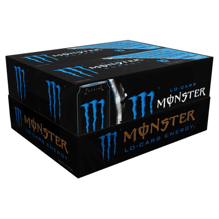 Blast Energy Drink ((20 Cans) Monster Lo-Carb Energy Drink, 16 Fl)