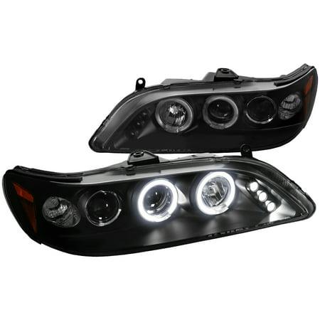 Spec-D Tuning 1998-2002 Honda Accord Led Projector Headlights 1998 1999 2000 2001 2002 (Left + Right)