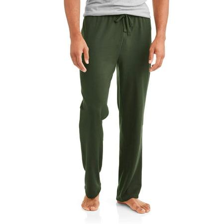 Blue Mens Sleepwear - Cherokee Men's French Terry Sleep Pants