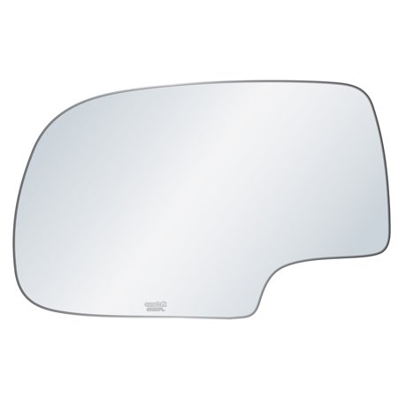 Exactafit 8720PL Driver Left Side Mirror Glass Replacement Kit Fits Chevy GMC Silverado Tahoe Sierra Yukon 1500 2500 3500 HD 1999-2007 Chevy Tahoe Mirror Drivers