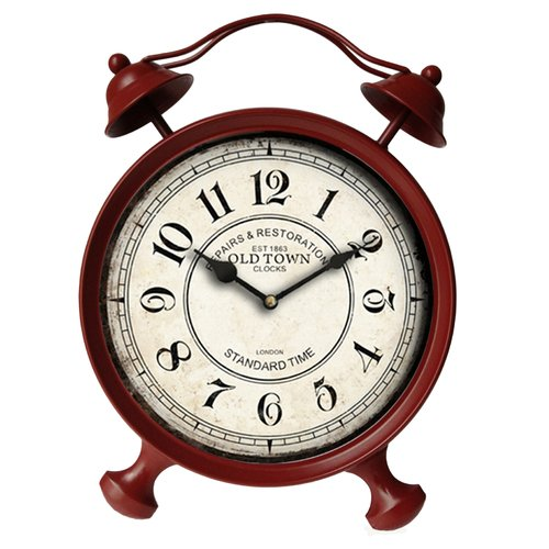 Wildon Home Haddam Vintage Table Clock by Cheung's