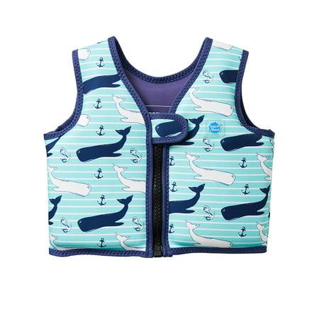 Kids Go Splash Float Jacket Swim Vest Vintage Moby 1-2 Years