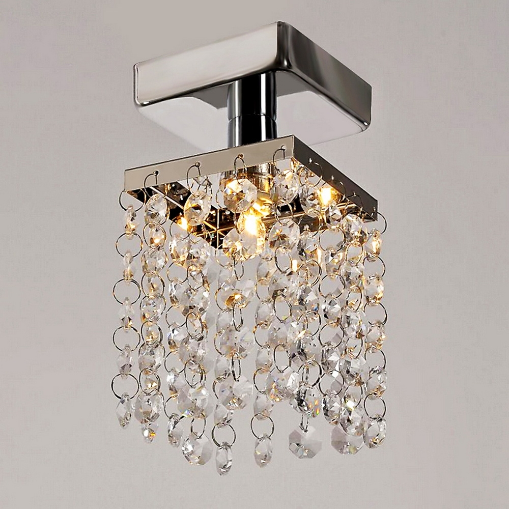 Home Living Room Lamp Stainless Steel Pendant Chandelier Ceiling Light by