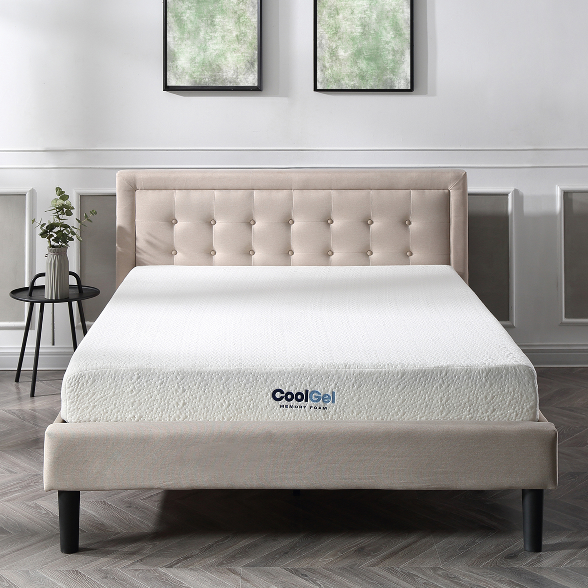 Modern Sleep Cool Gel Ventilated Gel Memory Foam 8 Inch Mattress