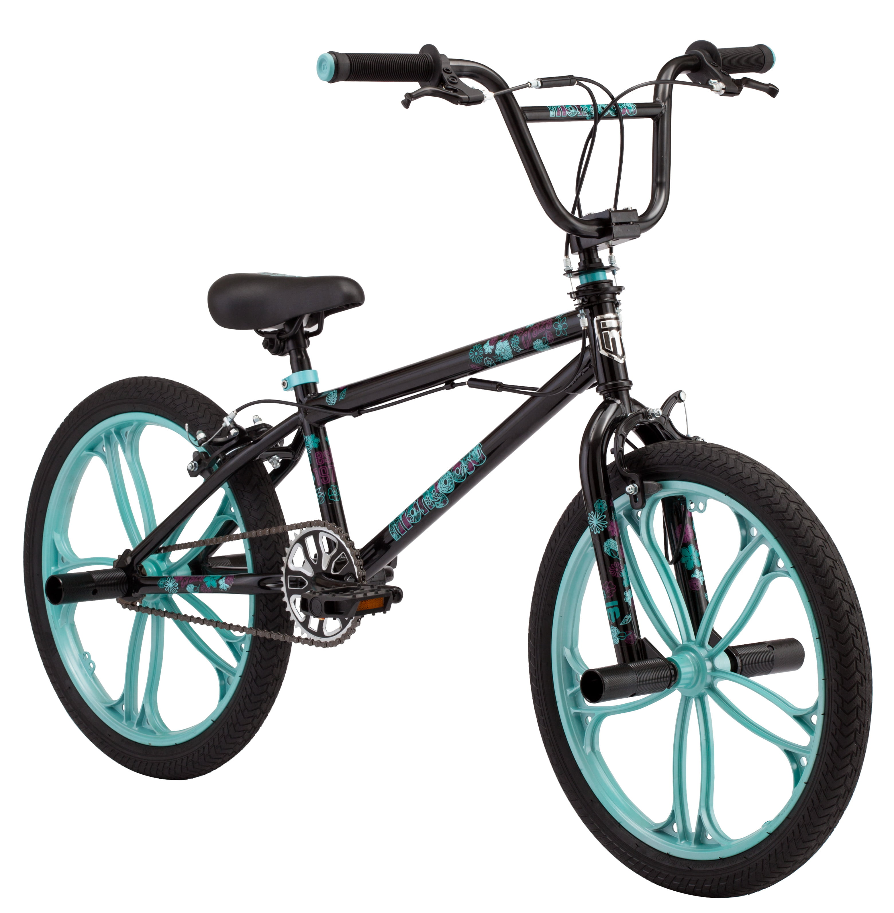 "Mongoose 20"" Girl's Craze Freestyle BMX Bike by Pacific Cycle"