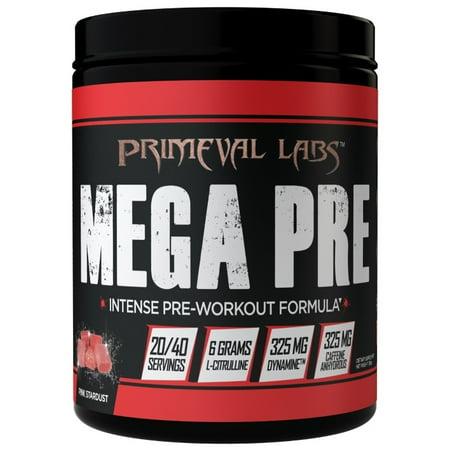 Primeval Labs Mega Pre Black - Pink Stardust - 20/40 Servings