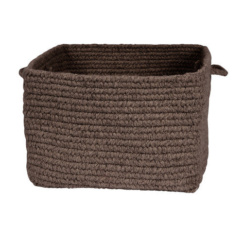 Colonial Mills Chunky Natural Wool Square Basket