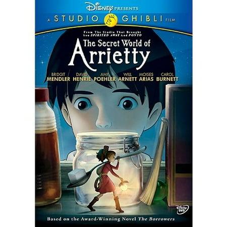 The Secret  World Of Arrietty  Widescreen