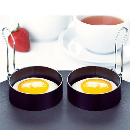 Amco Houseworks Nonstick Round Egg Rings, Set Of 2